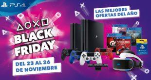 La promoción Black Friday llega a PlayStation 4 con descuentos y ofertas en todas las versiones de la consola