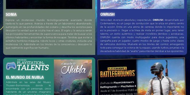 Playstation Plus Diciembre 2018 Los Juegos Gratis Del Mes Soma Y