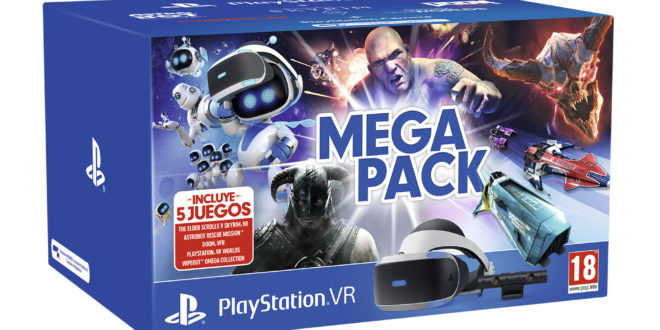 PlayStation anuncia el Mega Pack PlayStation VR con cinco grandes videojuegos
