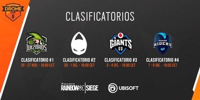 Rainbow Six Drone Cup 2018, la primera competición profesional del juego que organizamos de forma íntegra desde Ubisoft Spain.