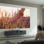 LG presenta el proyector LG Smart laser 4K (modelo HU85L) de Tiro Ultra Corto en CES 2019
