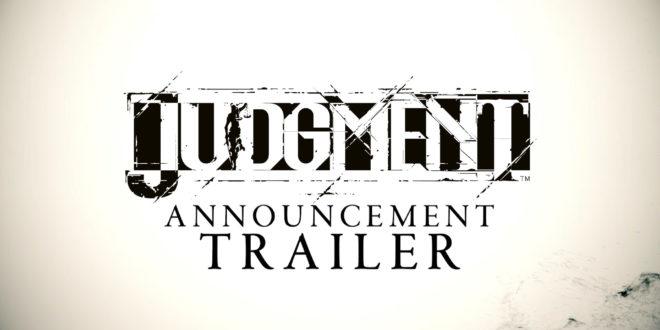 Confirmado el estreno de Judgment