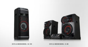 LG da una gran experiencia de sonido con su gama XBOOM en el CES 2019