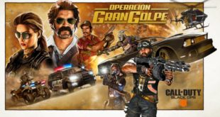 Ya disponible Call of Duty: Black Ops 4 Operación Gran Golpe