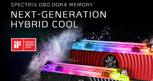 ADATA XPG SPECTRIX D80 gana el iF Design Award 2019