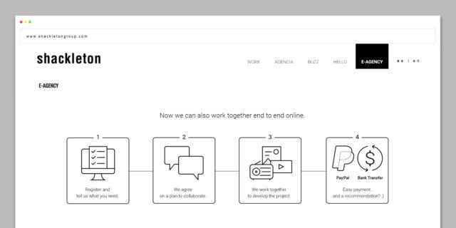 Shackleton lanza su nueva web transacional de agencia