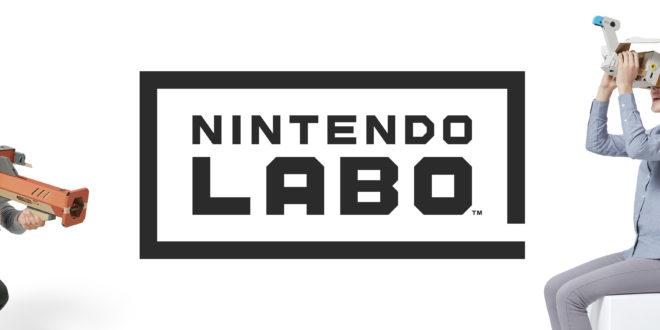 El Nintendo Labo: kit de VR llega el 12 de abril