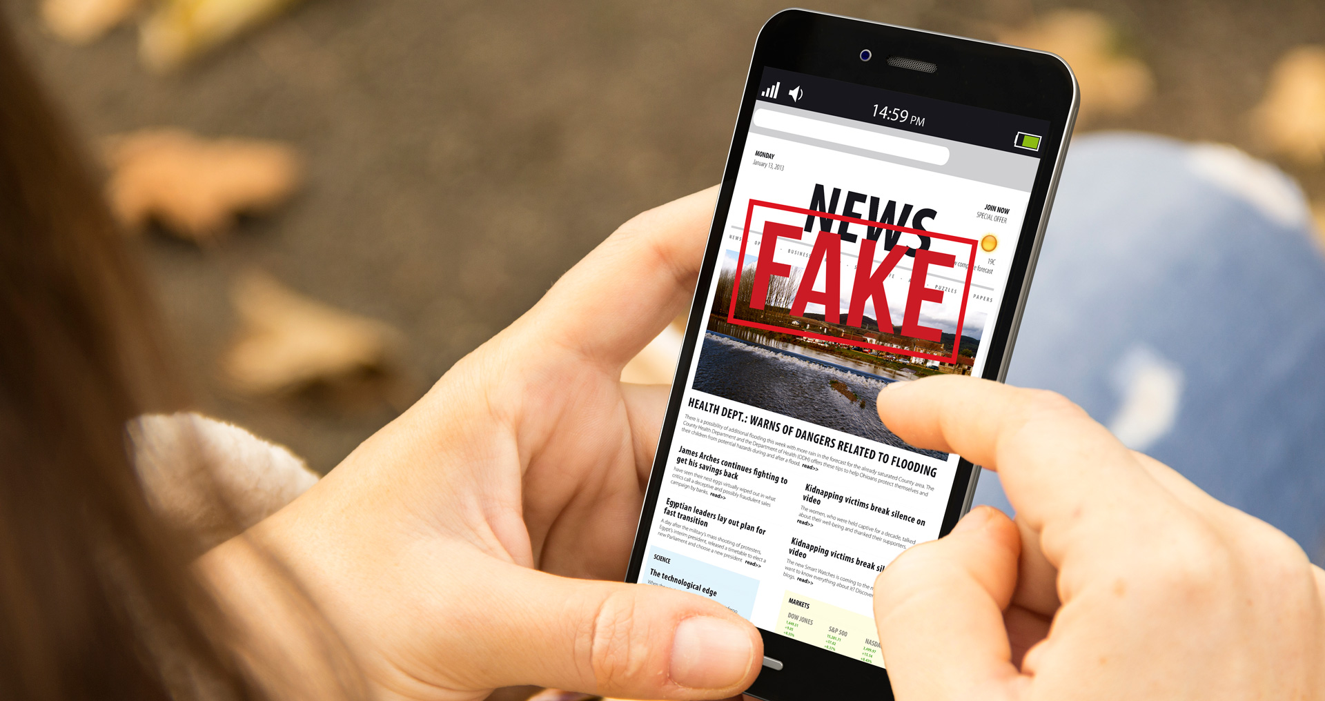 Los internautas están a favor de prohibir las noticias falsas