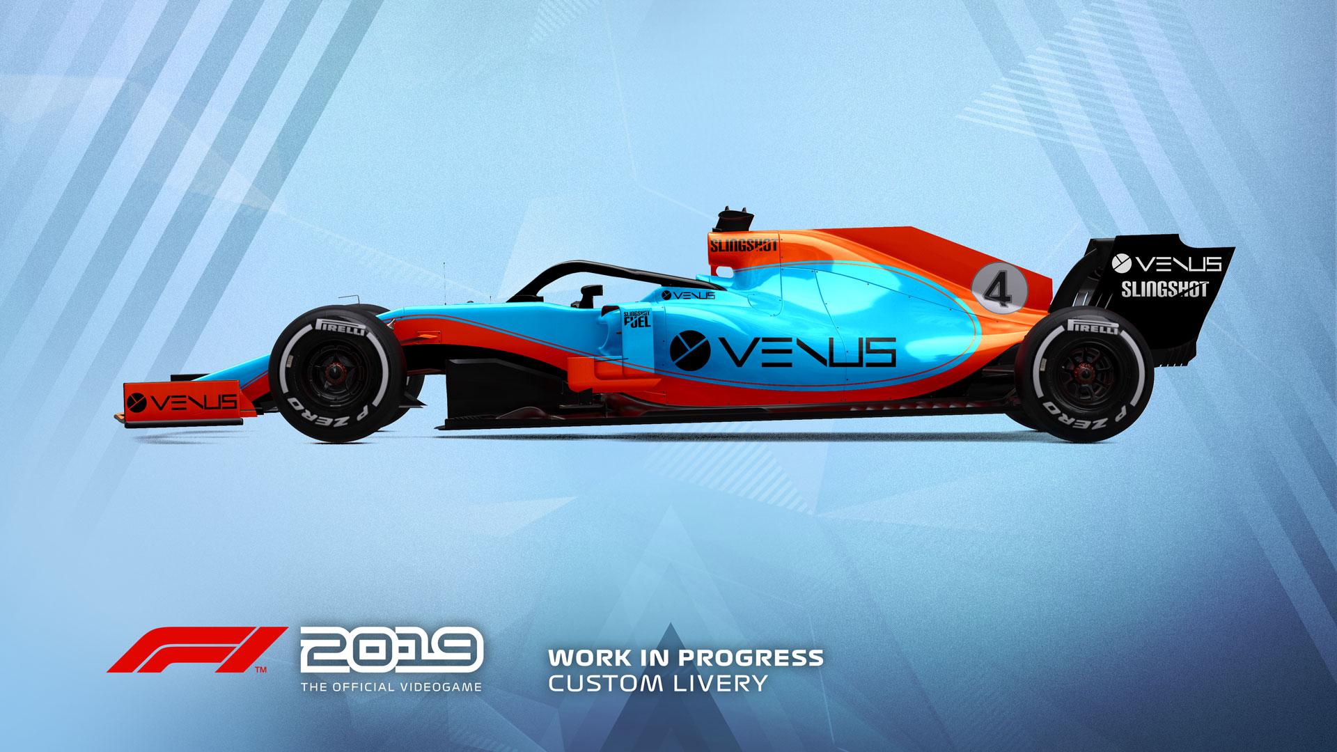 F1 2019 se lanzará el 28 de junio para PS4, Xbox One y PC