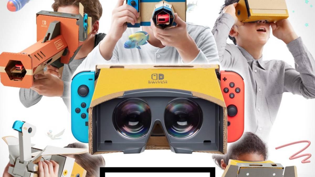 Realidad virtual para compartir en familia. Llega Nintendo Labo: Kit de VR