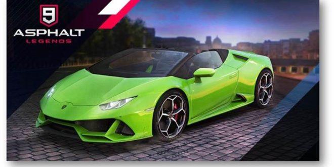 Asphalt 9: Legends uno de los mejores juegos de coches para tu smartphone