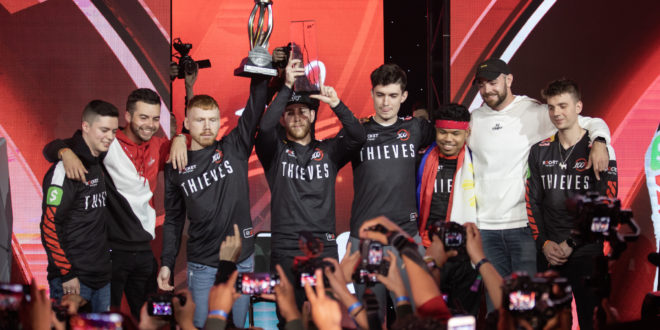 100 THIEVES SE PROCLAMAN CAMPEONES DE LA CWL ANAHEIM CUP. Mindfreak se hace con el triunfo del MTN DEW® AMP® GAME FUEL® en el torneo amateur. La Call of Duty® World League Championship 2019 regresa a Los Ángeles, del 14 al 18 de agosto.
