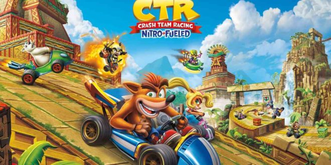 Crash Team Racing Nitro-Fueled ya disponible