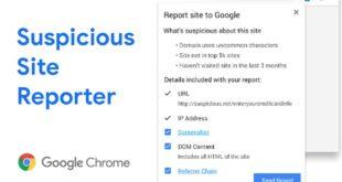 Google lanza una extensión de Chrome para denunciar webs sospechosas