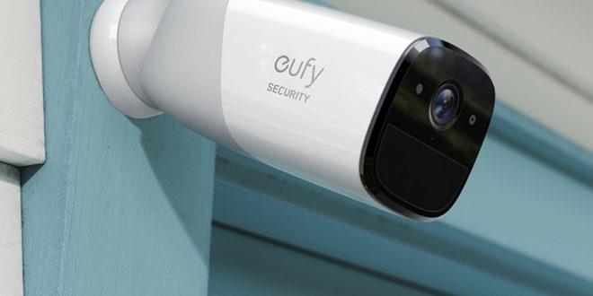 ¿Te vas de vacaciones?Consejos para evitar que entren en casa a robar. Cámara de seguridad EufyCam de Anker