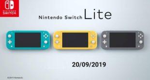 Nintendo presenta Nintendo Switch Lite