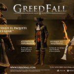 GreedFall soportará la tecnología HDR y la resolución 4K