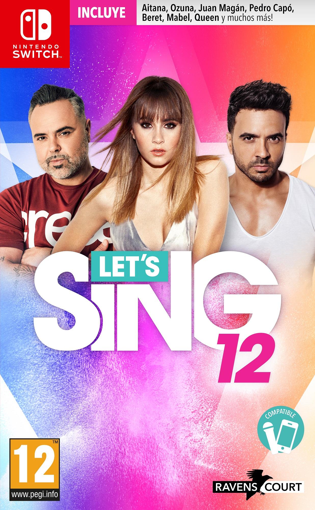 Anunciado Let's Sing 12 para PS4 y Switch