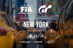 Sigue en directo el World Tour de Gran Turismo Sport desde Nueva York