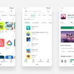 Actualización visual de la tienda Google Play