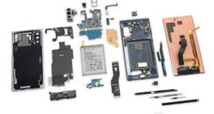 El Galaxy Note 10 es más difícil de reparar