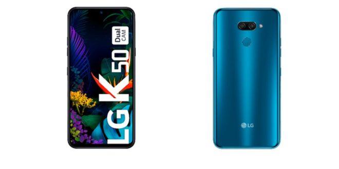 LG presenta el nuevo modelo LG K50, el smartphone para los selfies perfectos