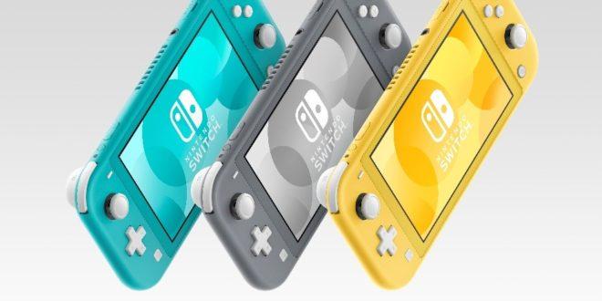 Nintendo Switch Lite, la versión portátil de Nintendo Switch, ya está disponible