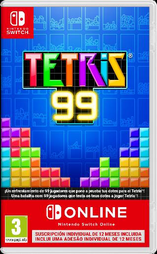 La versión física de TETRIS 99 aterriza hoy en tiendas