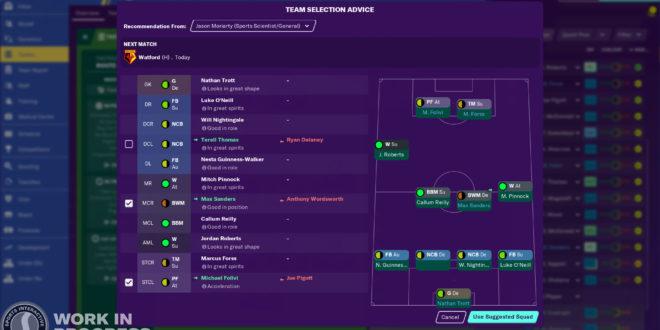 Las novedades de juego en Football Manager 2020