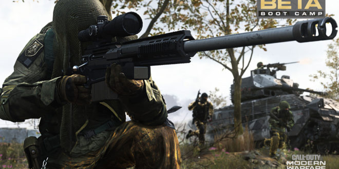 Modern Warfare. Call of Duty: Modern Warfare beta multijugador disponible
