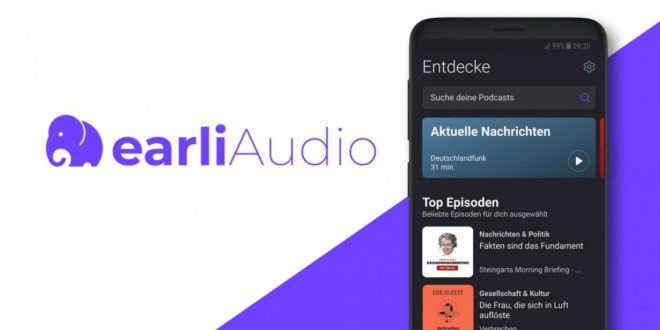 Upday crea las apps earliAudio y earliNews