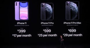 Resumen keynote de Apple. iPhone 11, iPhone 11 Pro, iPad,Apple Watch Series 5, Apple TV+ y Apple Arcade
