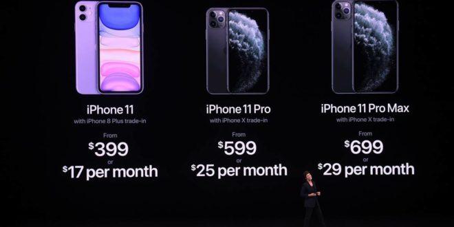 Resumen keynote de Apple. iPhone 11, iPhone 11 Pro, iPad,Apple Watch Series 5, Apple TV+ y Apple Arcade