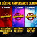 Un mes de recompensas para celebrar el décimo aniversario de Borderlands