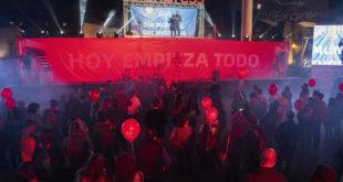 Miles de personas se reúnen en Madrid para celebrar la campaña 11.11 de Aliexpress