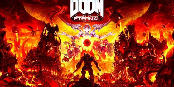 DOOM Eternal - actualización fecha lanzamiento