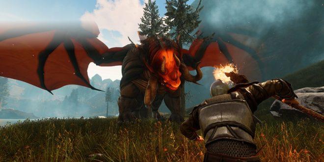Doma y vuela con tu propio Dragón en Citadel: Forged With Fire