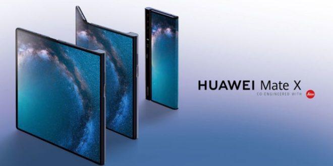 Huawei lanzará el Mate X plegable el 15 de noviembre en China