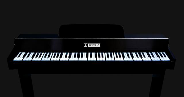 Conoce el OnePlus Phone Piano, el teclado formado por 17 OnePlus 7T Pro