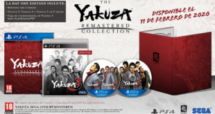 Yakuza 4 Remastered ya está disponible en digital