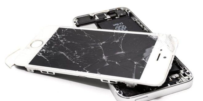 Principales averías en smartphones