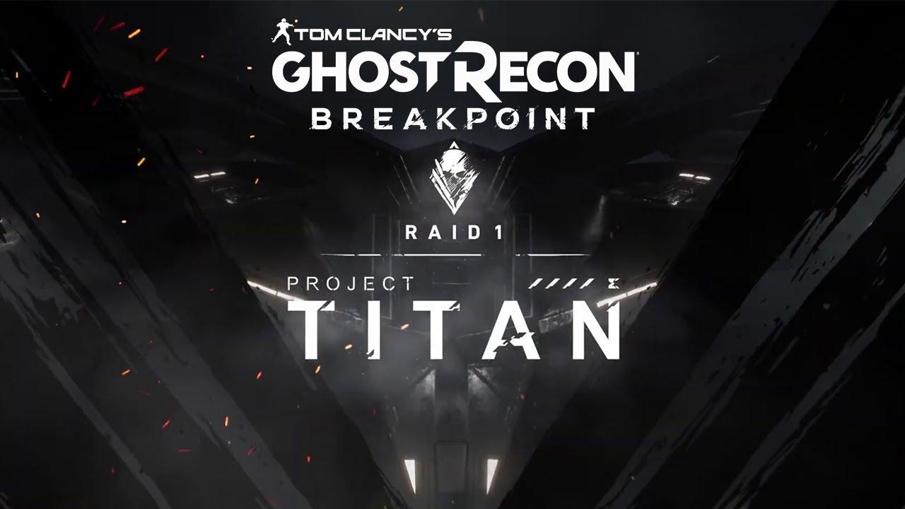 Proyecto Titán, la primera incursión de Tom Clancy's Ghost Recon Breakpoint