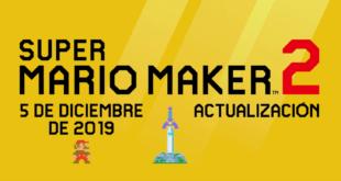 Link de la saga The Legend of Zelda se une a Super Mario Maker 2 en su próxima actualización como personaje jugable