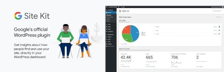 Site Kit, un plugin de WordPressque facilita la conexión de un blog o sitio web a una serie de servicios de Google