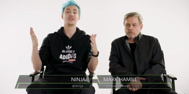 Mark Hamill (Luke Skywalker de Star Wars) y Ninja juegan juntos a Fortnite en el nuevo episodio de Xbox Sessions