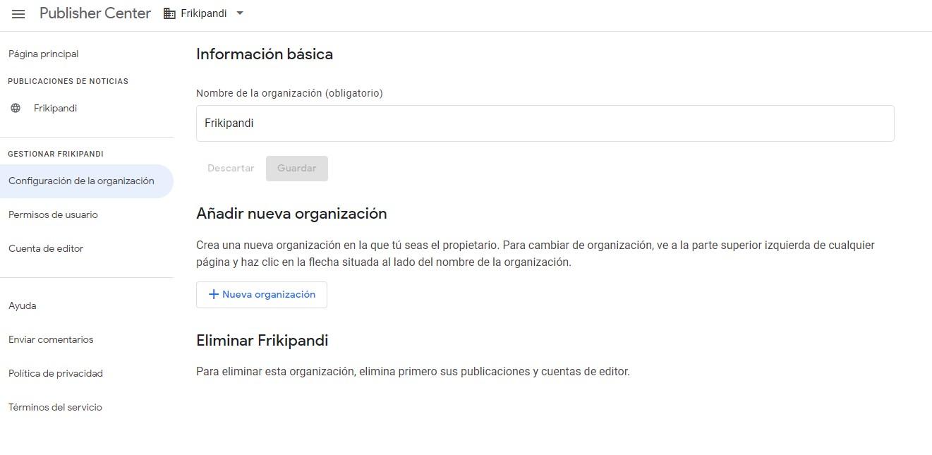 Lanzamiento de un nuevo Centro de editores de Google