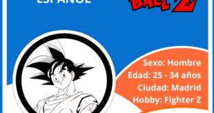 El perfil del fan deDragonBall:madrileño, treintañero, jugador de la sagaFighterZ
