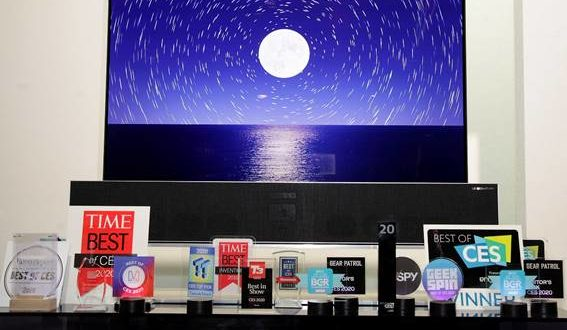 LG vuelve a triunfar en CES 2020 y obtiene más de 150 galardones este año
