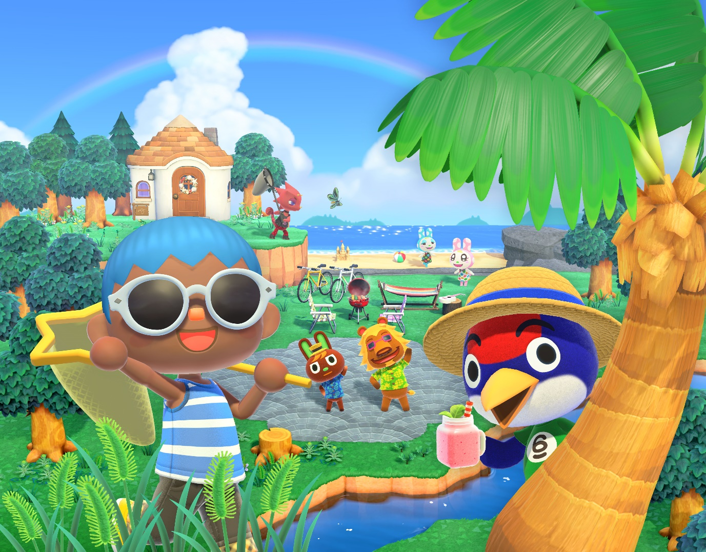 Animal Crossing: New Horizons ya está disponible en exclusiva para Nintendo Switch