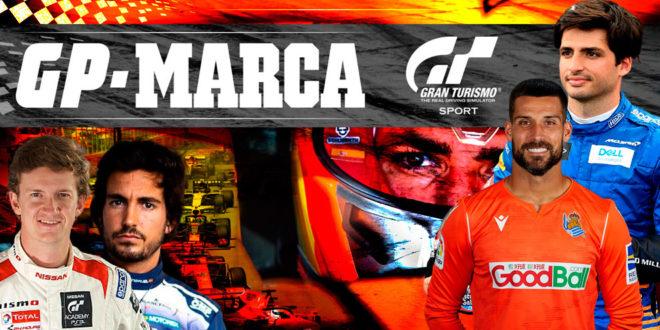 Gran Premio Marca. Carlos Sainz debuta de forma espectacular como piloto virtual